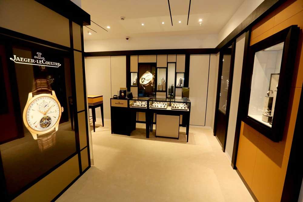 Boutique Jaeger-LeCoultre en Madrid, detalles