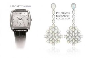 Reloj y pendientes Chopard