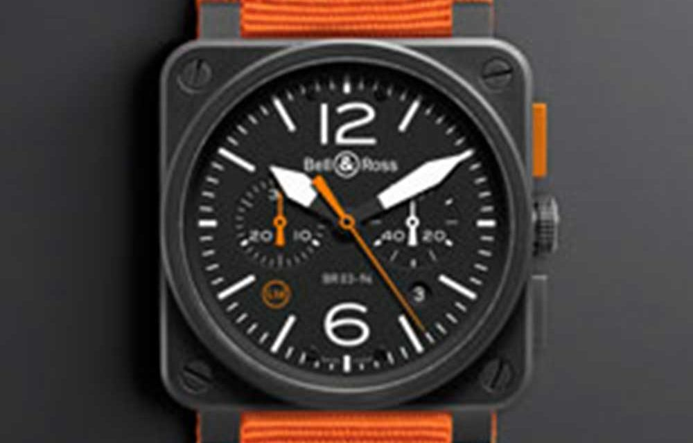 Bell & Ross 03-94 Carbon Orange