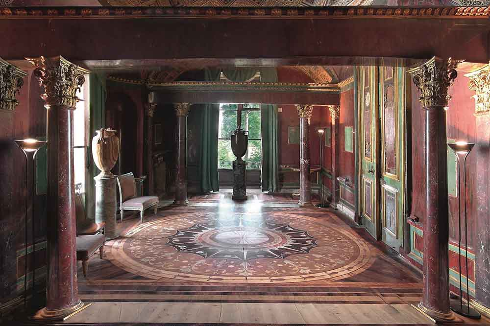 Salas de Ágata Palacio de Catalina