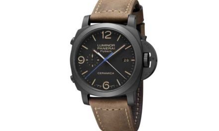 SIHH: PANERAI Luminor 1950 3 Days Chrono Flyback Automatic Ceramica