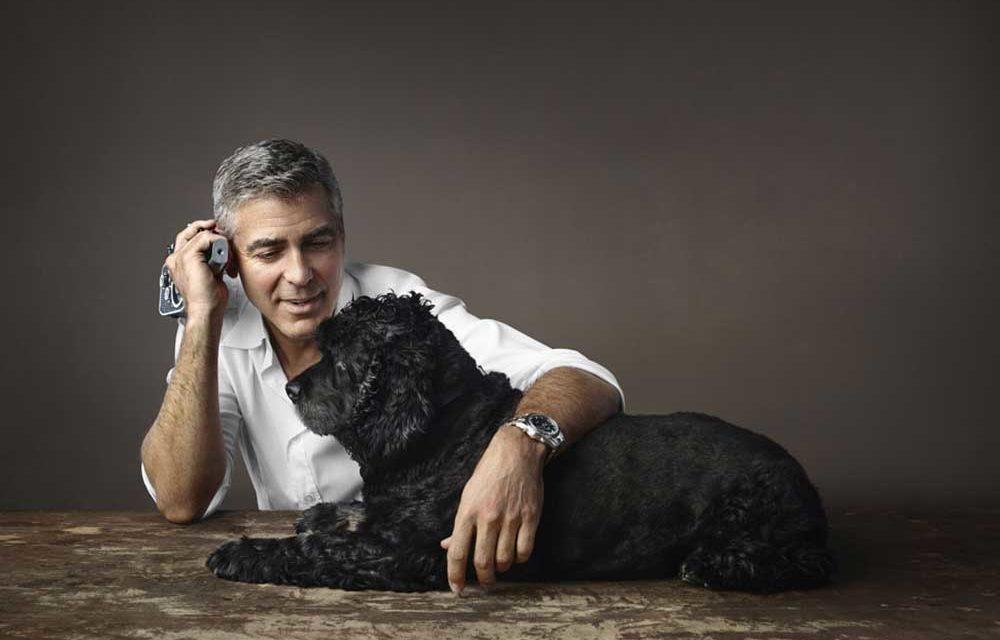 Omega y George Clooney