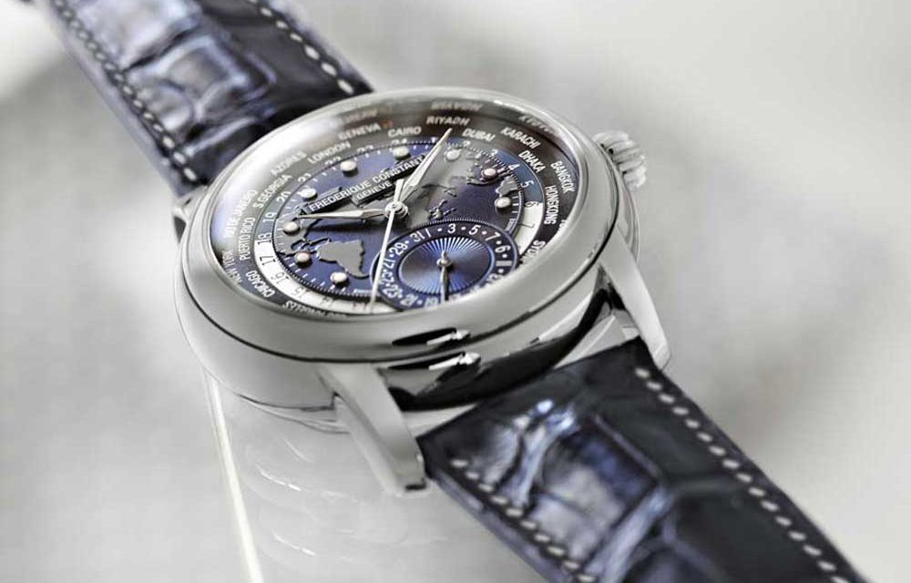 Novedad Basilea: Frédérique Constant Worldtimer Navy Blue
