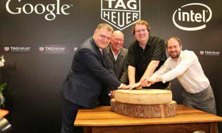 TAG Heuer, Google e Intel lanzarán un smartwatch suizo
