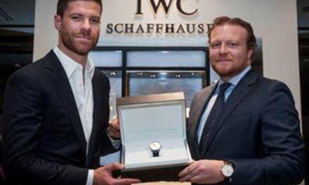 IWC Schaffhausen y Xabi Alonso