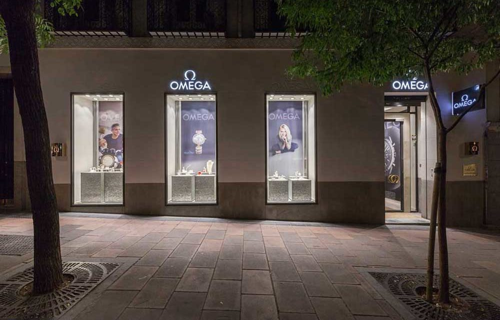 Omega. Boutique en Madrid
