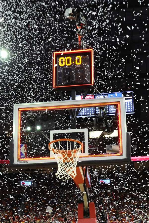 Tissot Cronometrador oficial de la NBA