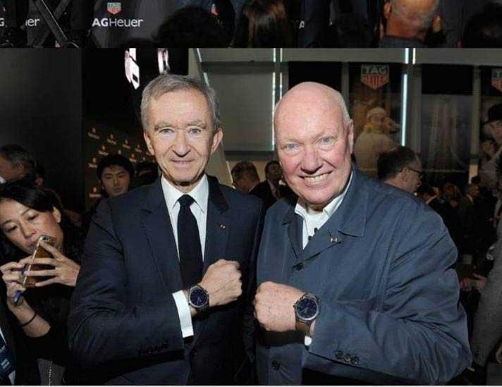Bernard Arnault y Jean Claude Biver