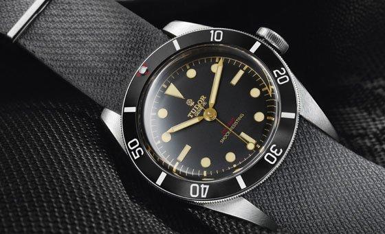 Tudor Heritage Black Blay One