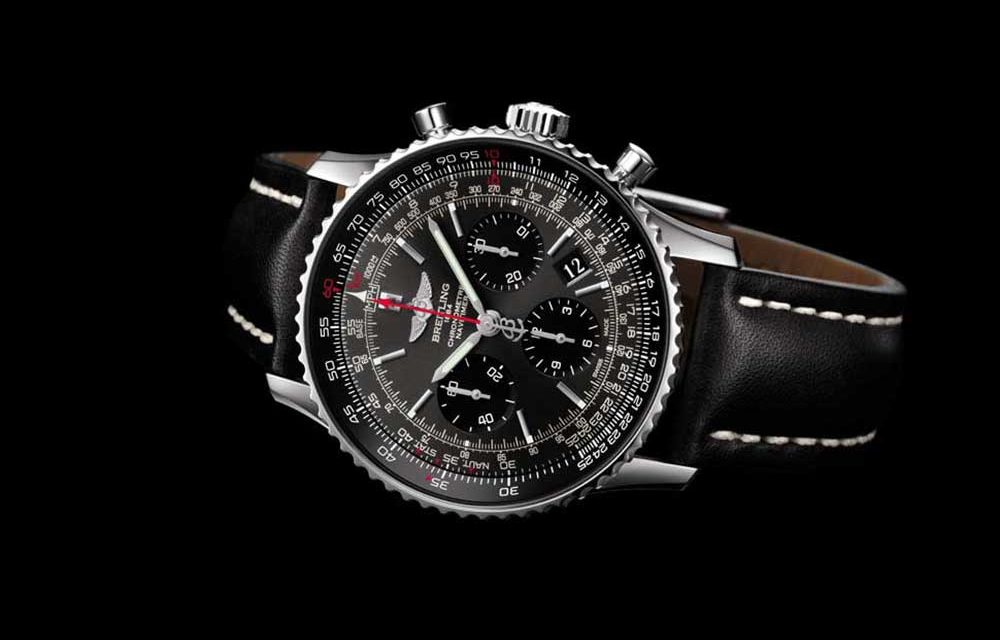 Breitling Navitimer 01 Limited Edition. Un icono gris y negro
