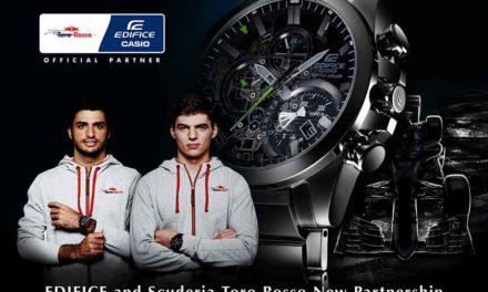 Edifice patrocina la Scuderia Toro Rosso