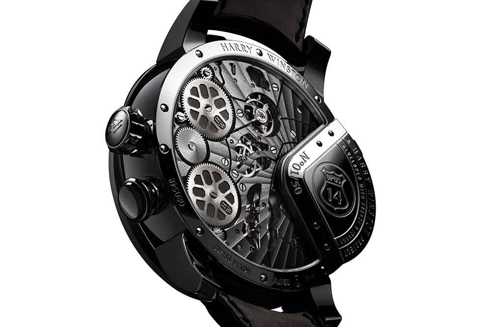 Harry Winston Opus 14, fondo