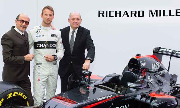 Richard Mille correrá con McLaren-Honda en Fórmula 1