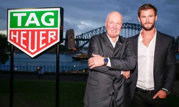 TAG Heuer presenta a su nuevo embajador Chris Hemsworth