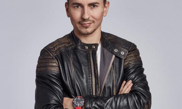 Jorge Lorenzo, nuevo miembro de la familia Tissot