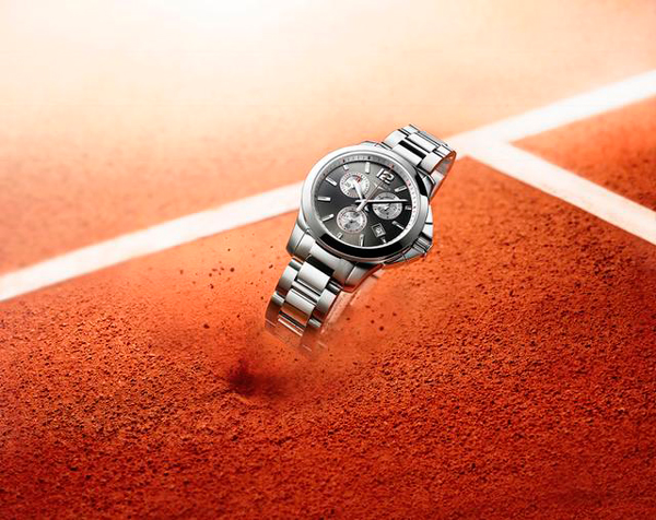 Longines, favorito en Roland Garros con su cronógrafo femenino Conquest