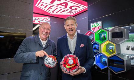 TAG Heuer celebra su vínculo con el fútbol en la Premier League