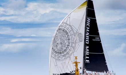 El RM 60-01 navega en la Voiles de St. Barth 7th Edition