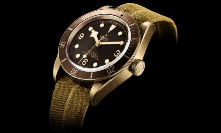 Baselworld 2016: Tudor Heritage Black Bay Bronze
