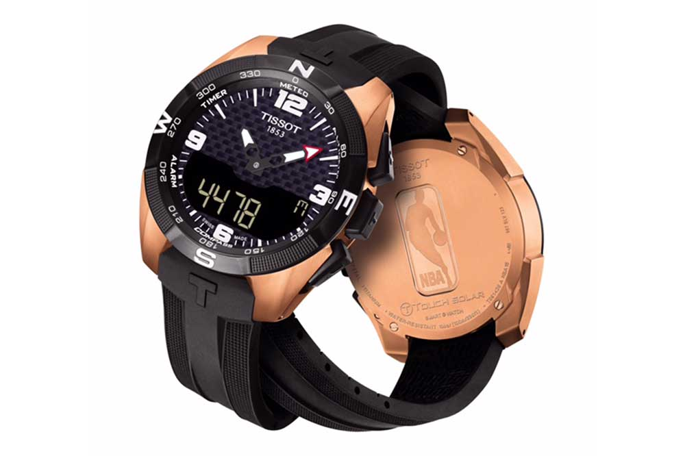 Tissot T-Touch Expert NBA Special Edition en oro rosa