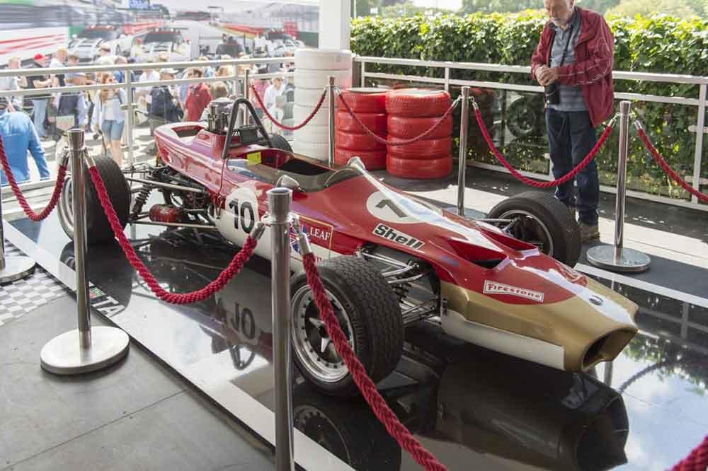 James Hunt's Lotus 59