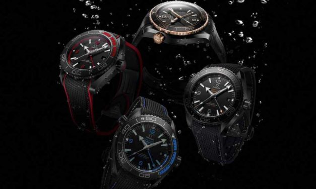 Omega Seamaster Planet Ocean Deep Black Collection