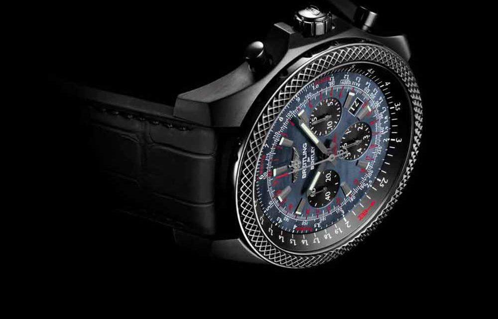 Breitling for Bentley B06 Midnight Carbon. La elegancia del negro