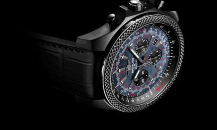 Breitling for Bentley B06 Midnight Carbon. La elegancia del negro