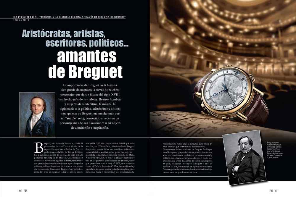 Breguet Exposición en el Teatro Real de Madrid