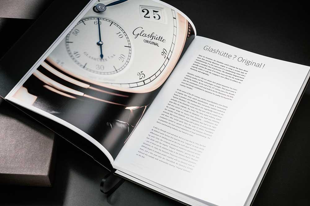 "Glashütte Original ""Impresiones"" páginas interiores"