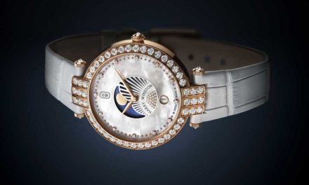 Harry Winston Premier Moon Phase 36 mm. Tributo a la fase lunar