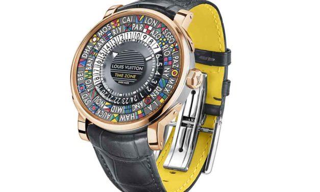 Louis Vuitton Escale Time Zone en oro rosa y acero