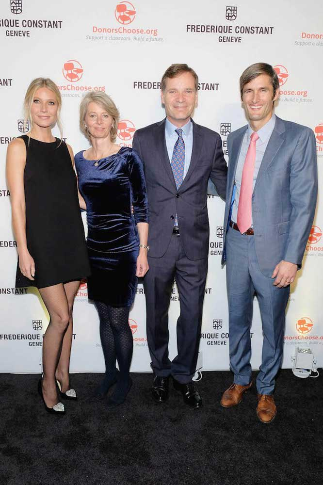 Gwyneth Paltrow, Aletta Stas, Peter Stas and Charles Best