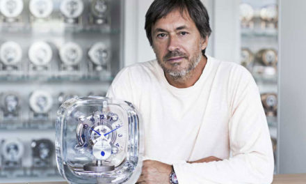 Jaeger-LeCoultre Atmos 568 by Marc Newson