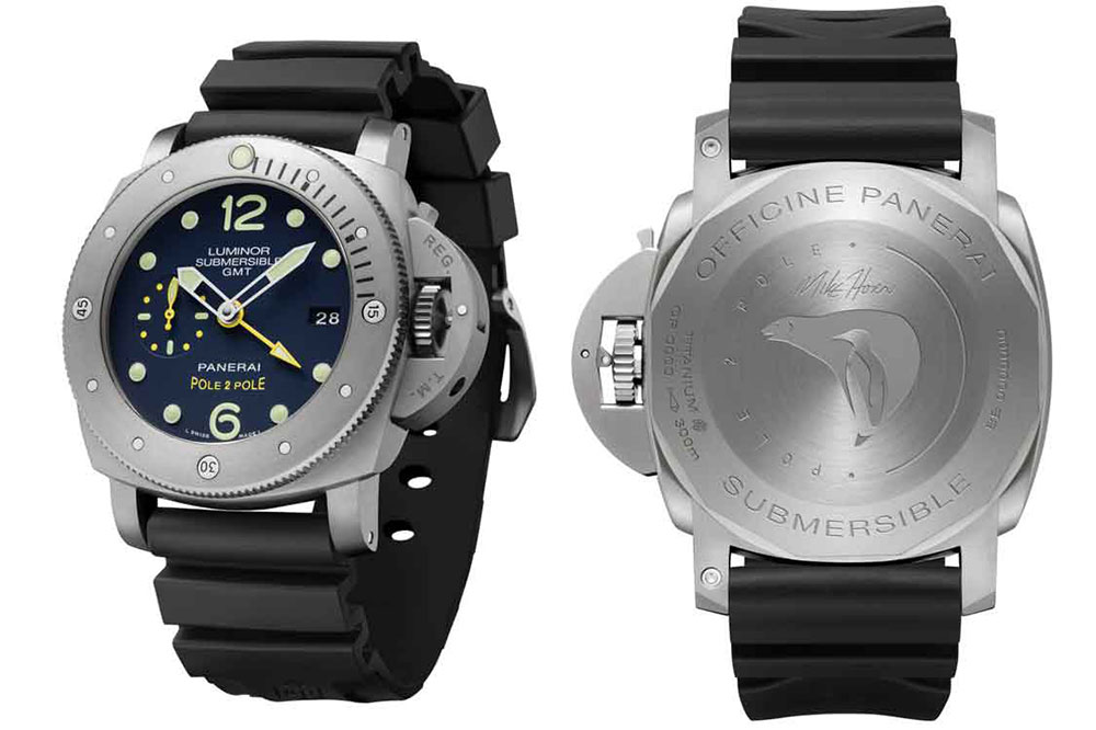 Panerai Luminor Submersible 1950 3 Days GMT Automatic Titanio 47 mm