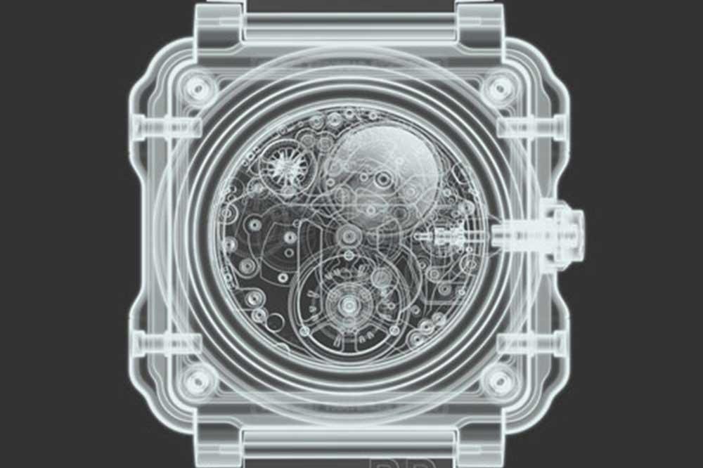 BR-X1 Chronograph Tourbillon Sapphire radiografía