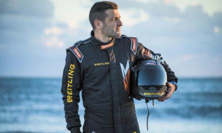 Breitling con Franky Zapata en el proyecto Flyboard Air