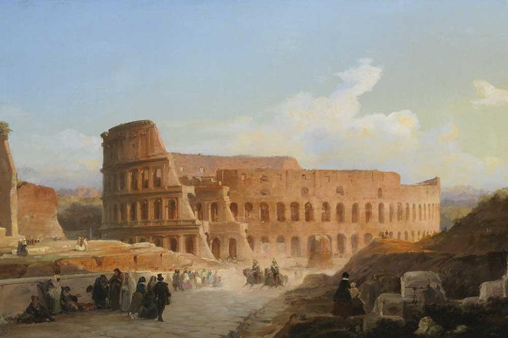 Exposición Bvlgari y Roma El Coliseo