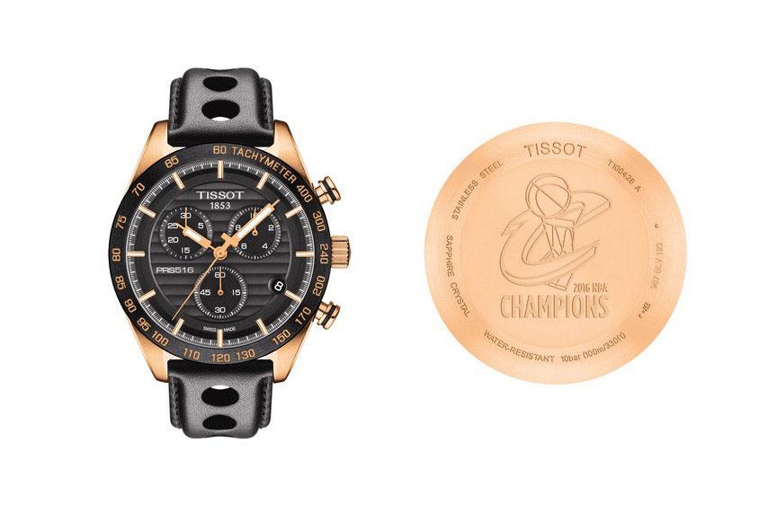 Tissot, reloj oficial de los Cleveland Cavaliers