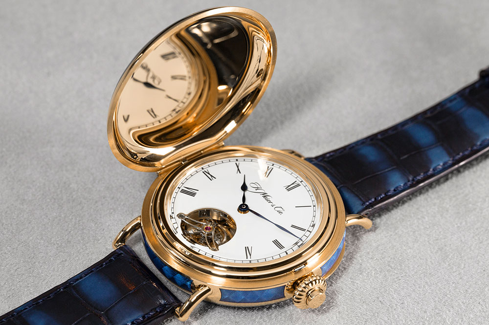 H. Moser & Cie Heritage Tourbillon front