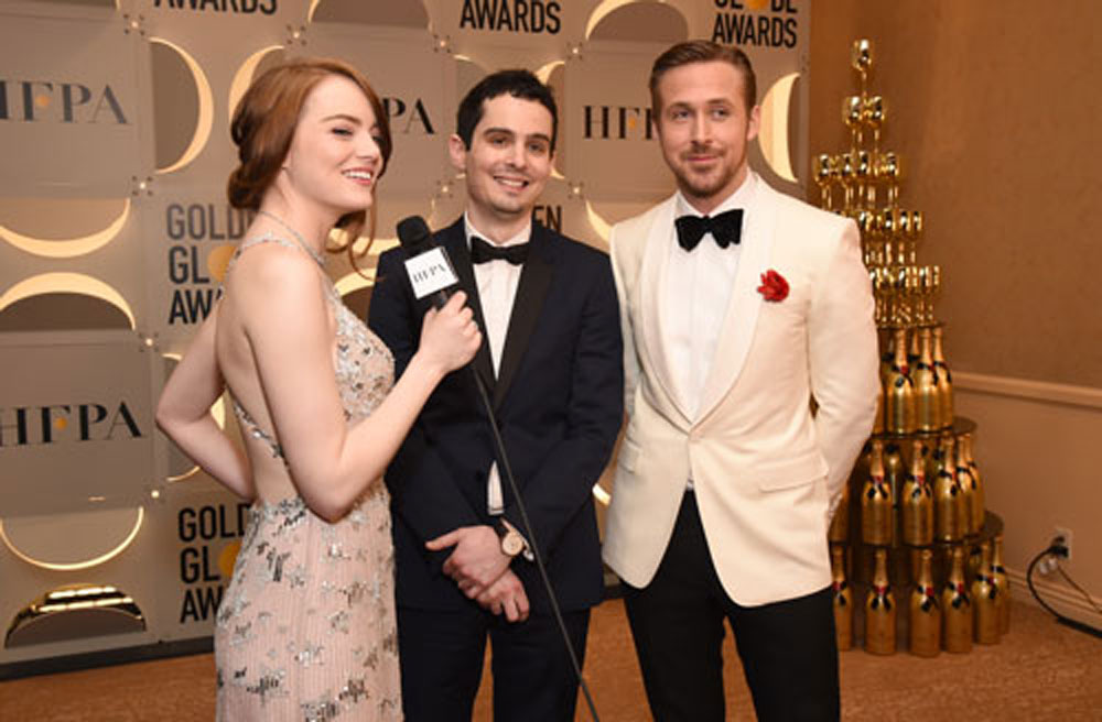 LA LA LAND Damien Chazelle, Ryan Gosling y Emma Stone