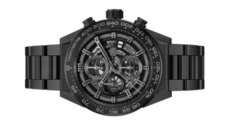 TAG Heuer Carrera Heuer-01 Full Black Cerámica
