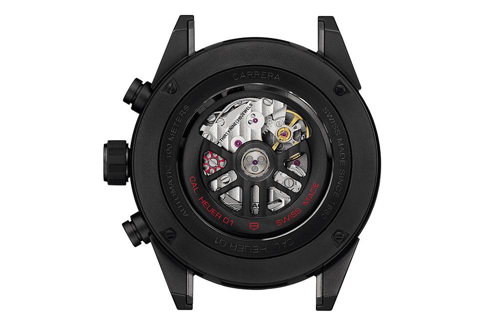 TAG Heuer Carrera Heuer 01 Full Black Ceramica calibre