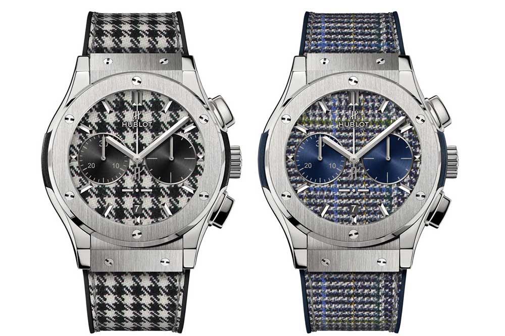 Hublot Classic Fusion Chronograph Italia Independent Titanium