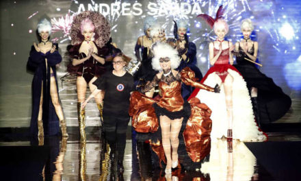 Messika y Victoria Abril en la MBFW de Madrid