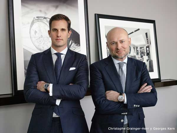 Grupo RICHEMONT Christophe Grainger-Herr y Georges Kern
