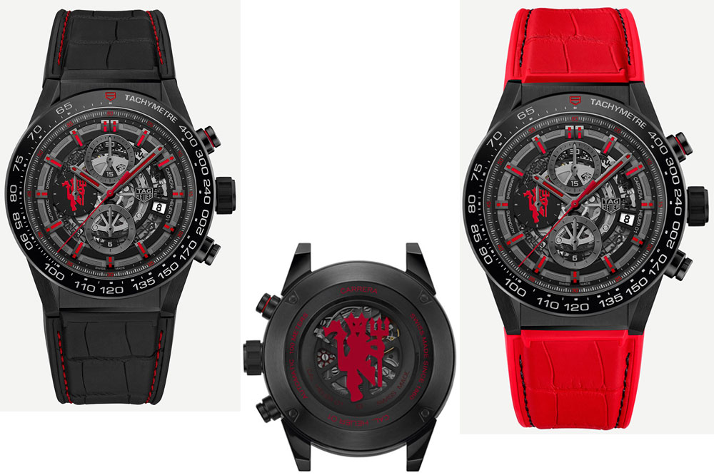 TAG Heuer Carrera Heuer-01 Chrono In-house Caliber Manchester United
