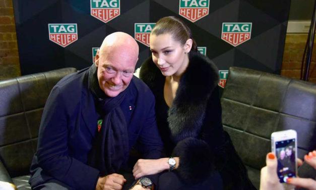 Bella Hadid, nuevo rostro de TAG Heuer