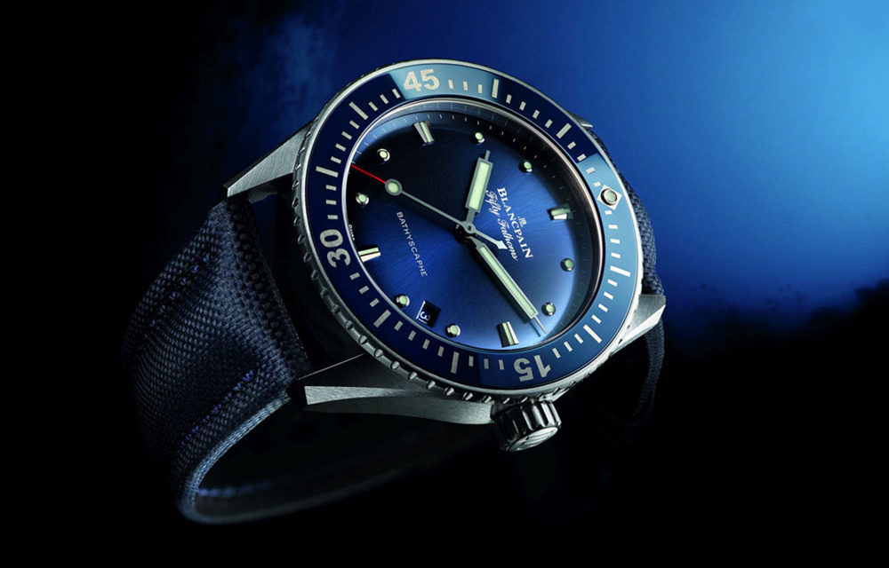 Baselworld 2017: BLANCPAIN Fifty Fathoms Bathyscaphe