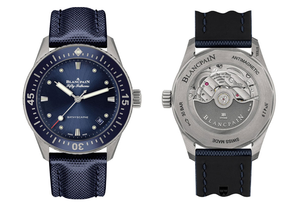 Blancpain Fifty Fathoms Bathyscaphe detalles